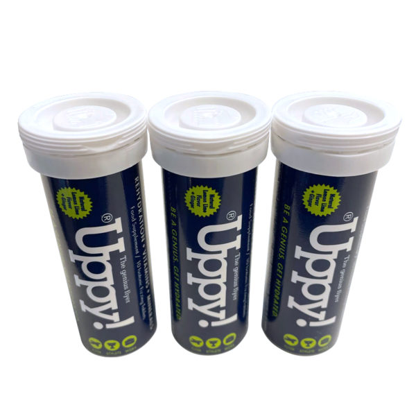 Uppy Flyer 3-pack Hydration tablets