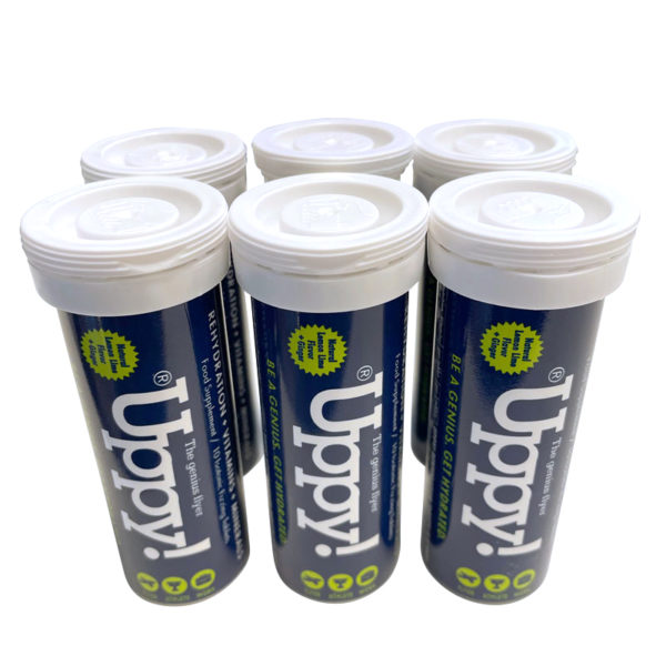 Uppy Flyer 6-pack Hydration tablets